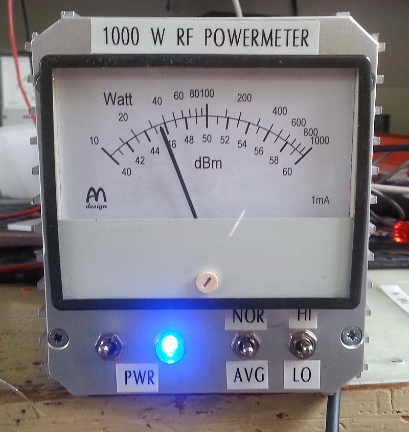 QRO PowerMeter for 144 MHz PA